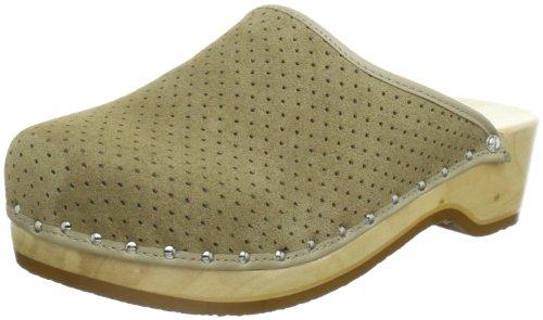 Berkemann Standard-Toeffler Unisex-Erwachsene Clogs, Beige (Desert), 43 1/3