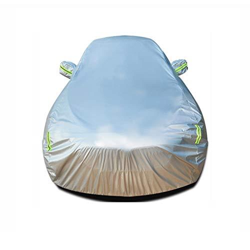 XJH- Copriauto Compatibile con Ford S-Max Copertura Protettiva for Ispessimento Auto Protezione Solare Copertura Antipolvere Impermeabile e antigelo Copertura Auto for Tutte Le Stagioni Abbigliamento