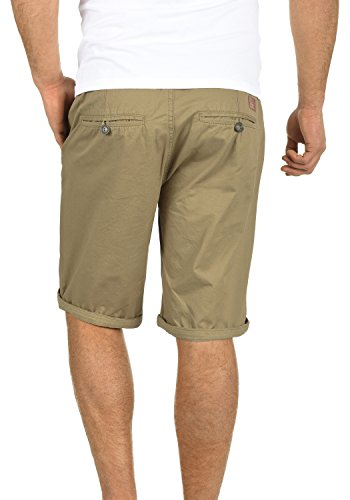 BLEND Kaito Herren Chino-Shorts kurze Hose Business-Shorts aus 100% Baumwolle Lead Gray (70036)
