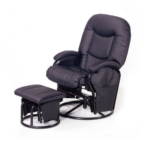 Stillstuhl Hauck Metal Glider Recline black
