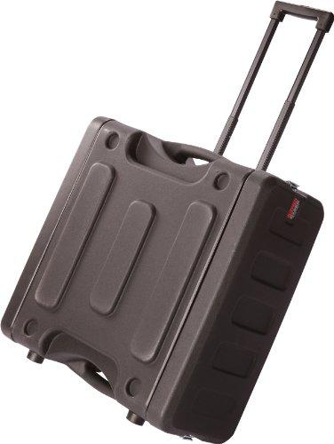 Gator Cases Pro Series Rolling Rack Case (48,3 cm Tiefe) 4U Rack Space - Rolling schwarz (Rack Rolling)