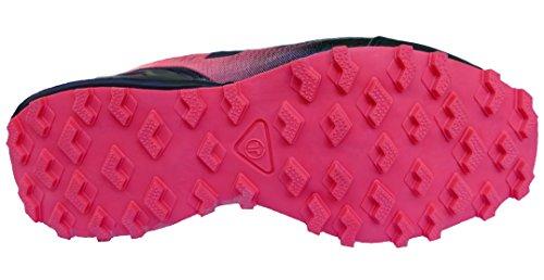 Gibra Ladies Scarpe Sportive, Molto Leggere E Comode, Nero / Rosa, Taglia 36-41 Nero / Rosa