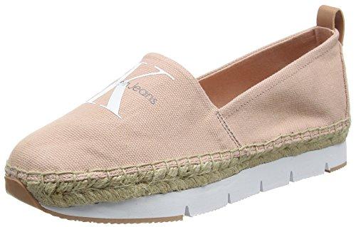 Calvin Klein Jeans Damen Genna Canvas Sneakers, Pink (DSK), 39 EU (Canvas Denim Schuhe)