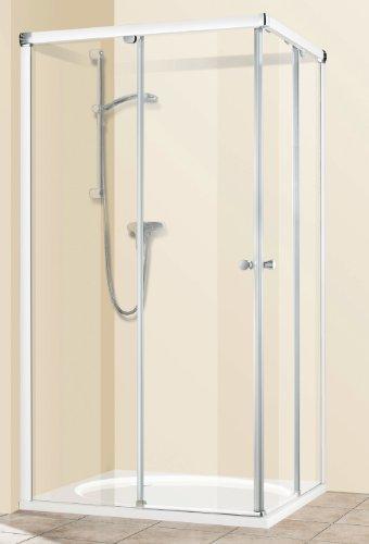 Breuer Fara II Eckeinstieg mit Schiebetüren Quickline 90 x 90 cm