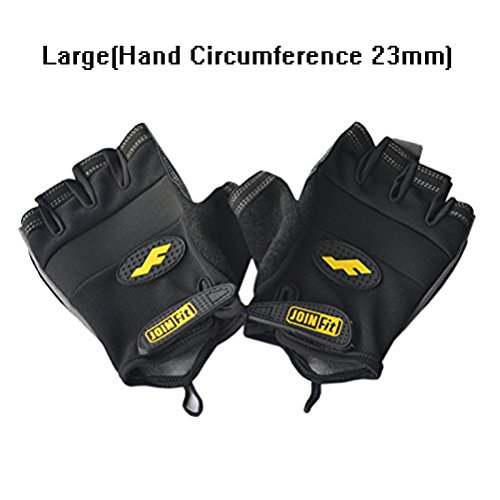 Men & Women Breathable Fitness Weight Lifting Glove Best for Summer Training Training-Biking-Cycling-Best for Comfort-Grip and Callus Protection Large(2 Pair)