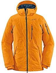 VAUDE Jacke Men's Gemsstock Jacket - Cortavientos para hombre, color naranja claro, talla M