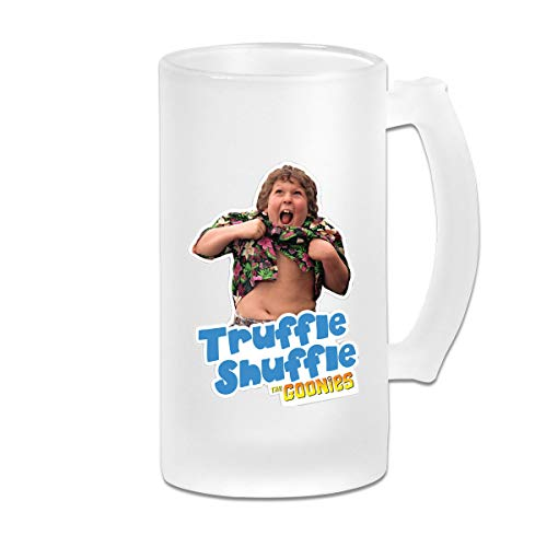 Truffle Shuffle Printed 16oz Frosted Drinks Glass