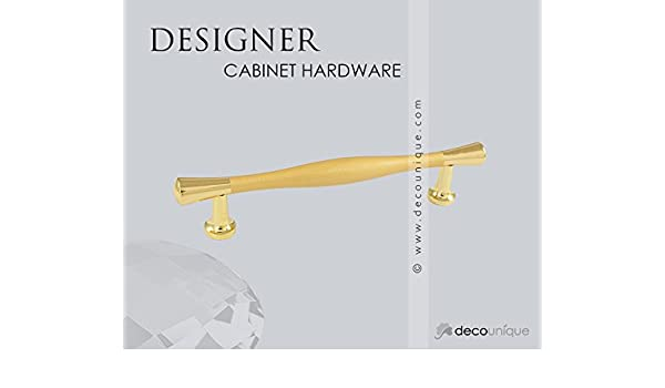 1105 L SG Satin Gold 130mm by 25.5mm DecoUnique Pull Handle