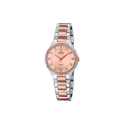 Festina Womens Analogue Classic Quartz Watch with Stainless Steel Strap F20226/4