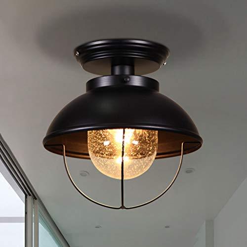 ZR Nórdico Creativo balcón lámpara de Techo Industrial Retro Corredor Bar salón...