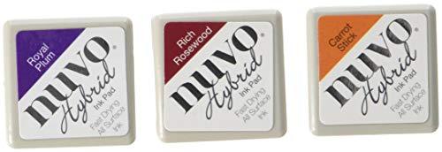 Tonic Studios Nuvo Diamond Hybrid Ink Pads 3/Pkg-Sunset Serenade Usa-hybrid