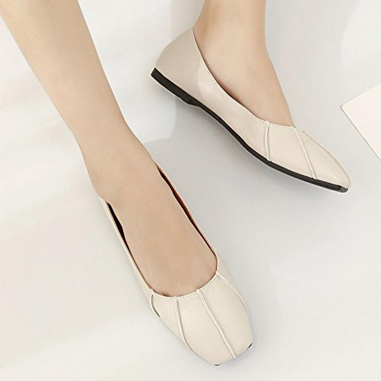 Xue Qiqi Scarpette Scarpe piatte piatte piatte Scarpe piatte semplici con scarpe singole Scarpe casual da donna...   Bel design    Sig/Sig Ra Scarpa