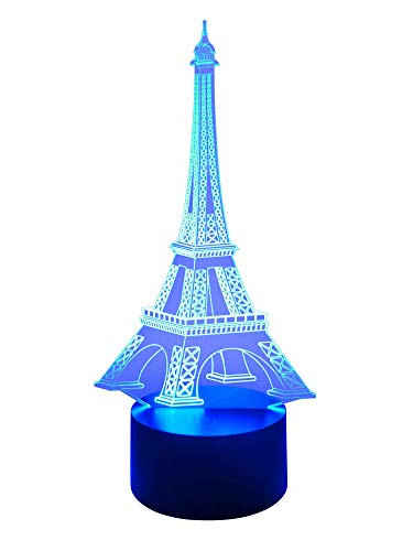 Originale lampe LED 3D Tour Eiffel