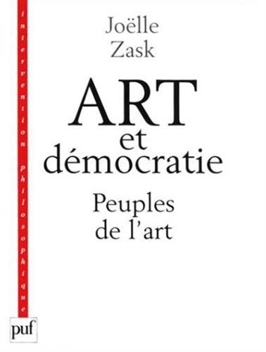 Art et démocratie par Joëlle Zask