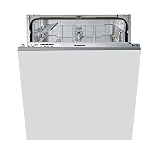 Hotpoint Aquarius LTB4B019 Fully Integrated Standard Dishwasher - Grey Control Panel