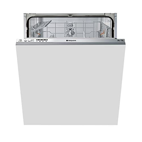 410j7rU9IML. SS500  - Hotpoint Aquarius LTB4B019 Fully Integrated Standard Dishwasher - Grey Control Panel