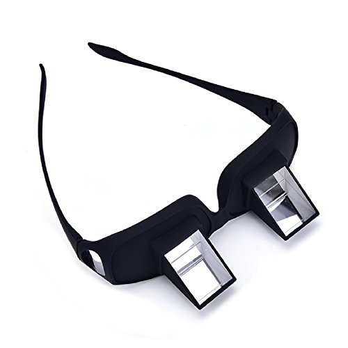 hangang Prisma vasos Horizontal Gafas Faule hinlegen para lectura/Televisión