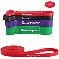 [Resistance Bands] BESTOPE® Fitness Exercise Bands Workout Strap  Exercise Loop Crossfit Bands with different Power for Strength  Weight Training Home Travel Yoga