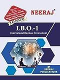 Neeraj Publications of International Business Environment-IBO1 for IGNOU in English Medium
