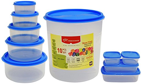 Princeware SF Package Container Set, 10-Pieces