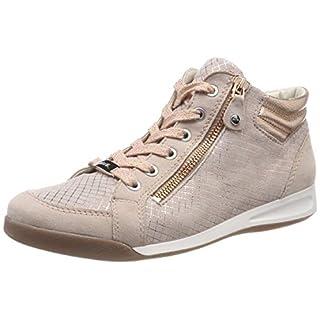 ARA Damen ROM 1234410 Hohe Sneaker Beige (Puder, Copper 19) 40 EU