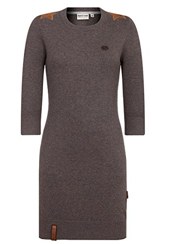 (Naketano Female Knit Groteske Fancy Dark Grey Melange, XS)