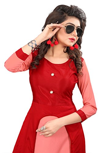 ethnic vila dress material for women