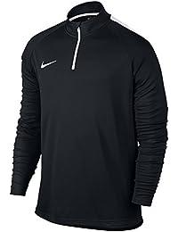 Nike M Nk Dry Acdmy Dril Camiseta a Mangas Largas, Hombre, Negro/Blanco, M