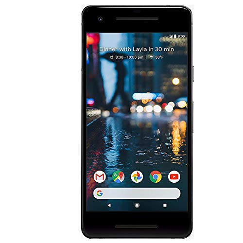 "Google Pixel 2  - Smartphone (12,7 cm (5""), 128 GB, 12,2 MP, Android, 8, Negro)"