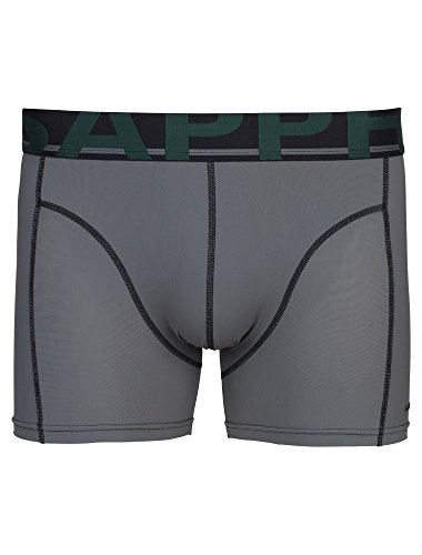 SAPPH Herren Boxershorts Baumwolle 2-pack - Grau Grau