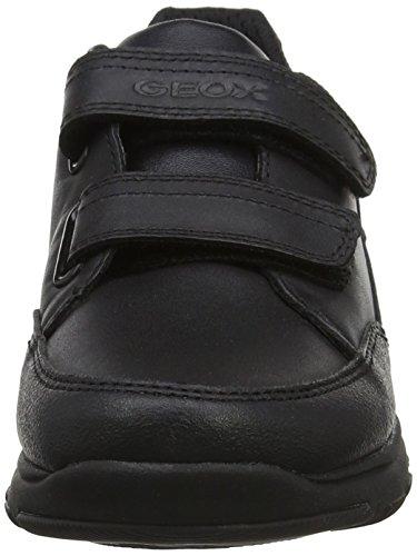 Geox J Xunday B, Scarpe da Ginnastica Basse Bambino Nero (Black)