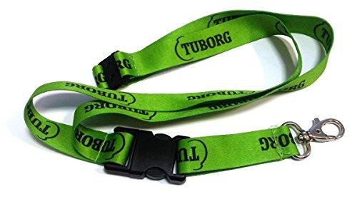 correa-llavero-tuborg-bier-beer-schlusselband-lanyard-neu