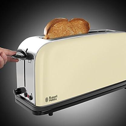 Russell-Hobbs-21395-56-Langschlitz-Toaster-Colours-Plus-Classic-Cream-extra-breiter-Toastschlitz-Brtchenaufsatz-1000-Watt-creme
