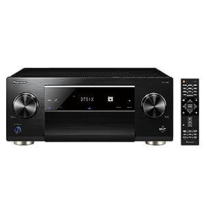 Pioneer 11.2 AV Receiver, SC-LX901, 200 Watt/Kanal, Class-D-Verstärker, Air Studios-Zertifizierung, 4K UltraHD, Dolby Atmos, DTS:X, WLAN, Bluetooth, Hi-Res Streaming, Musik Apps, Multiroom, Schwarz