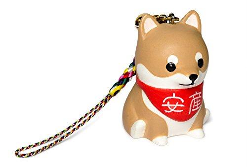 """Shiba Inu [ PetLovers ] Glücksbringer-Anhänger für Geburt in einer Box mit dem Logo des japanischen TV Dramas """"Kounodori"""