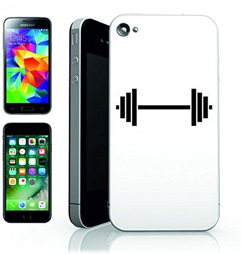 Smartphone Case Peso di sollevamento di potere della formazione-sano esercizio Slim della Palestra di allenamento di sport della vita stile di atleta di forza per Apple Iphone 4/4S, 5/5S, 5C, 6/6S,