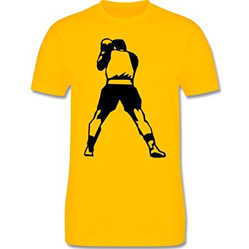 Kampfsport - Boxen - Herren Premium T-Shirt Gelb
