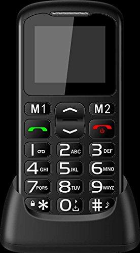 Band Unlocked Gsm-bluetooth (Hanyu Big Button Senior Cell-Phone Unlocked Only 2G GSM 2004C Quad Band with FM Radio Bluetooth Camera Flashlight SOS Emergency Button ...)