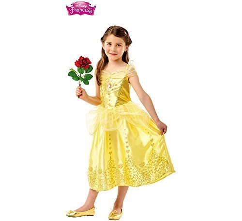 Rubie' s 640710 m disney princess belle gem costume, girls, medium