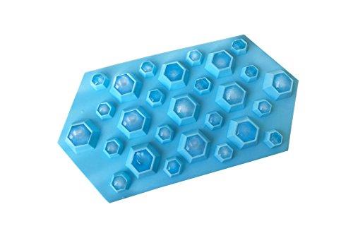 Eiswürfelform Diamant (Blau) (Einfach Eisprinzessin Kostüm)