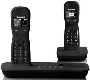 Telefunken colombo td 252 schnurloses design telefon for Colombo design amazon