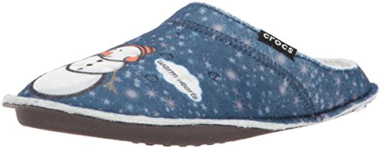 Crocs - Classic Graphic Slipper - Navy  -