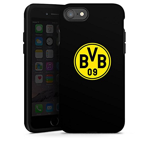 Apple iPhone 5 Silikon Hülle Case Schutzhülle BVB Logo Borussia Dortmund Tough Case glänzend