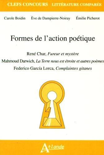 Formes de l action poétique