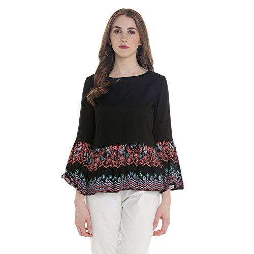Akkriti By Pantaloons Women's Rayon Tunic Top