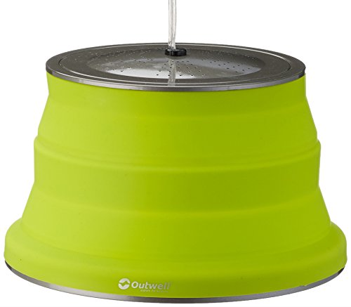 Outwell Sargas Lampe, Lime Green, 12 x 20 cm