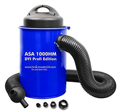 *Holzmaster Absauganlage ASA1000HM / ASA305 Absaugtonne, Absauganlage 50L Adapterset 4-teilig*
