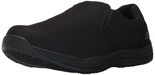 Skechers for Work Men's Otsego Work Shoe, Black