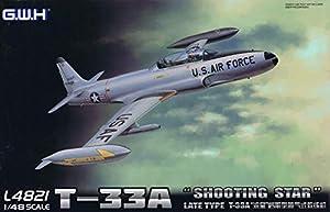 Lion Roar L4821 - Maqueta de avión T-33A Late Version Shooting Star USAF
