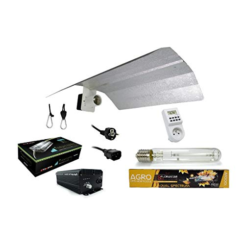 Kit lampe 1000W DIGILIGHT + FLORASTAR - Agro